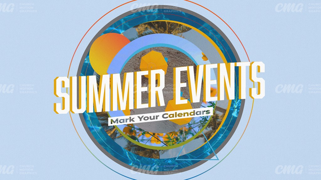 Summer Events Circle Images Abstract-Subtitle