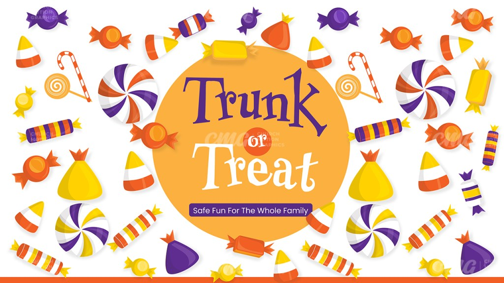 Trunk Or Treat Bright Candy Fun-Subtitle