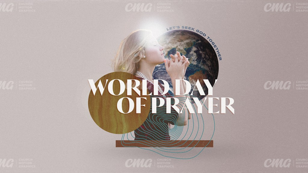 World Day of Prayer Woman Earth Collage Art-Subtitle