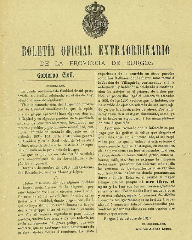 epi coronavirus y gripe española