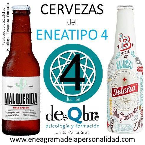 eneatipo 4 cervezas