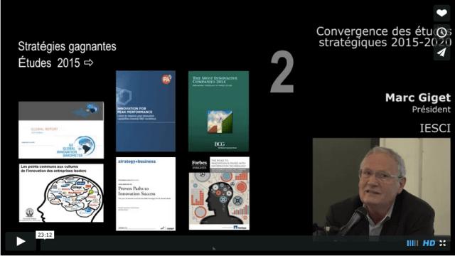 Mardis Innovation 2015 - Marc Giget