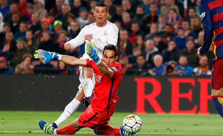 Cristiano Ronaldo le dio el triunfo al Real Madrid en el clásico español