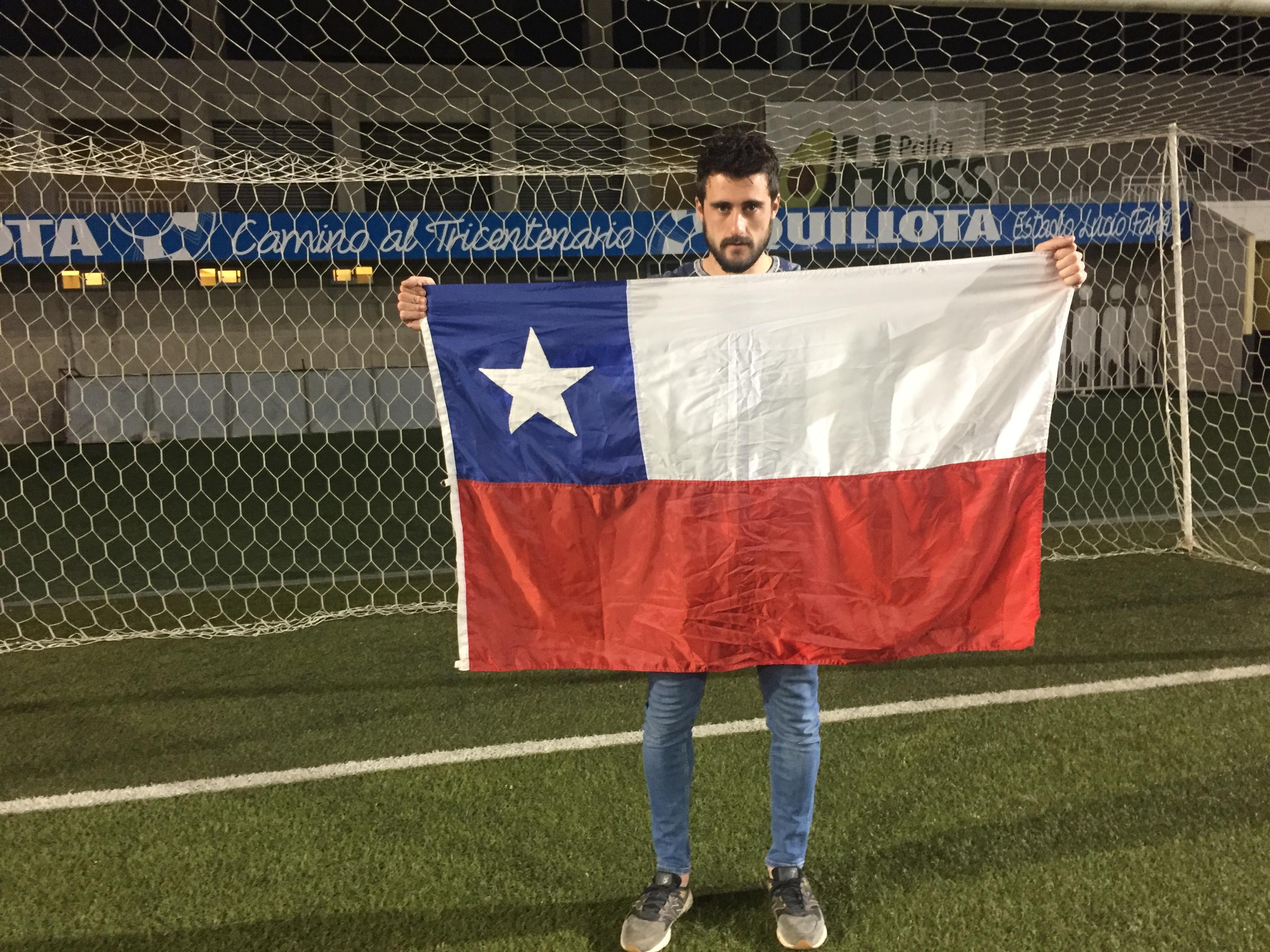Fernando De Paul ya es un chileno más y sueña con defender a la «Roja»