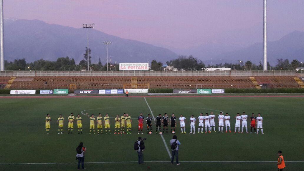 En un caliente partido, Melipilla venció en la agonía a Deportes Pintana