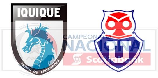 Finalizado: D.Iquique 2-0 U.de Chile