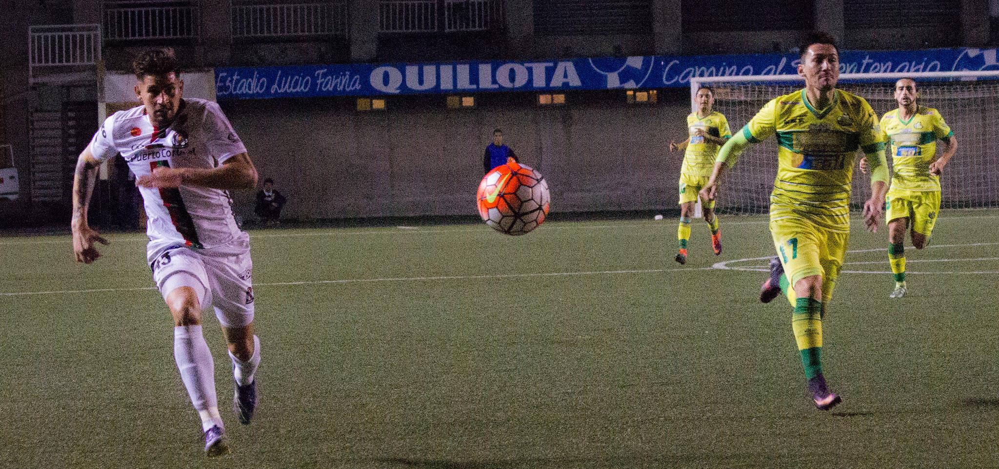 Galería de fotos: Deportes Pintana vs Lota Schwager