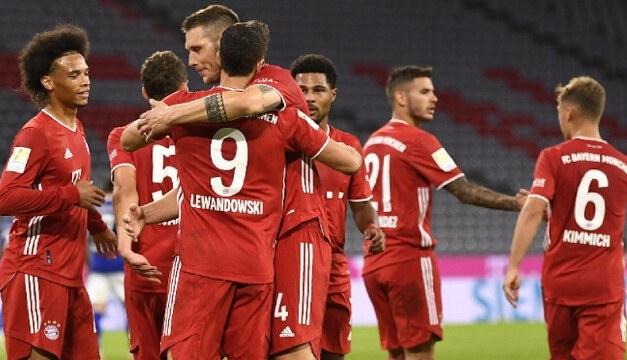Paliza del Bayern Munich da inicio a la Bundesliga