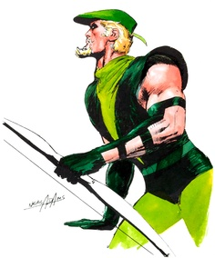 Green Arrow por Neal Adams