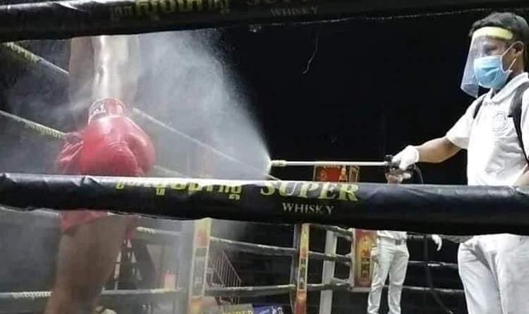 La insólita pelea de boxeo en Nicaragua