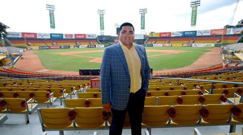 Ángel Ovalles Gerente General de las Águilas Cibaeñas