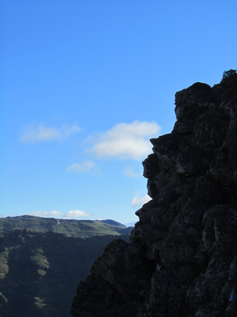 La Gomera vandring vy