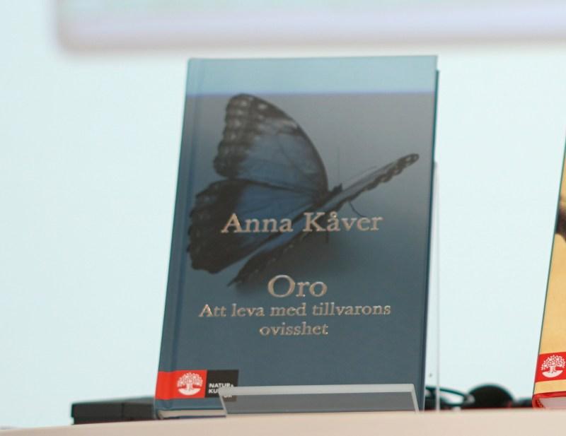Oro av Anna Kåver 2 bokomslag