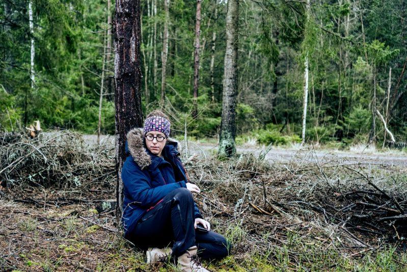 Ute till skogs är livskvalitet för Emilia