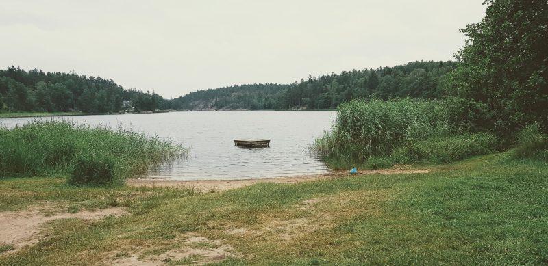 Hur kan man återhämta sig - i naturen bild på Lycksjön
