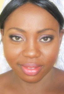 bridal makeup by nigerian makeup artist bronze goddess NG