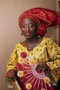 Makeup by Nigerian makeup artist