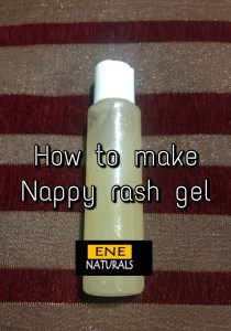 How to make Nappy Rash Gel