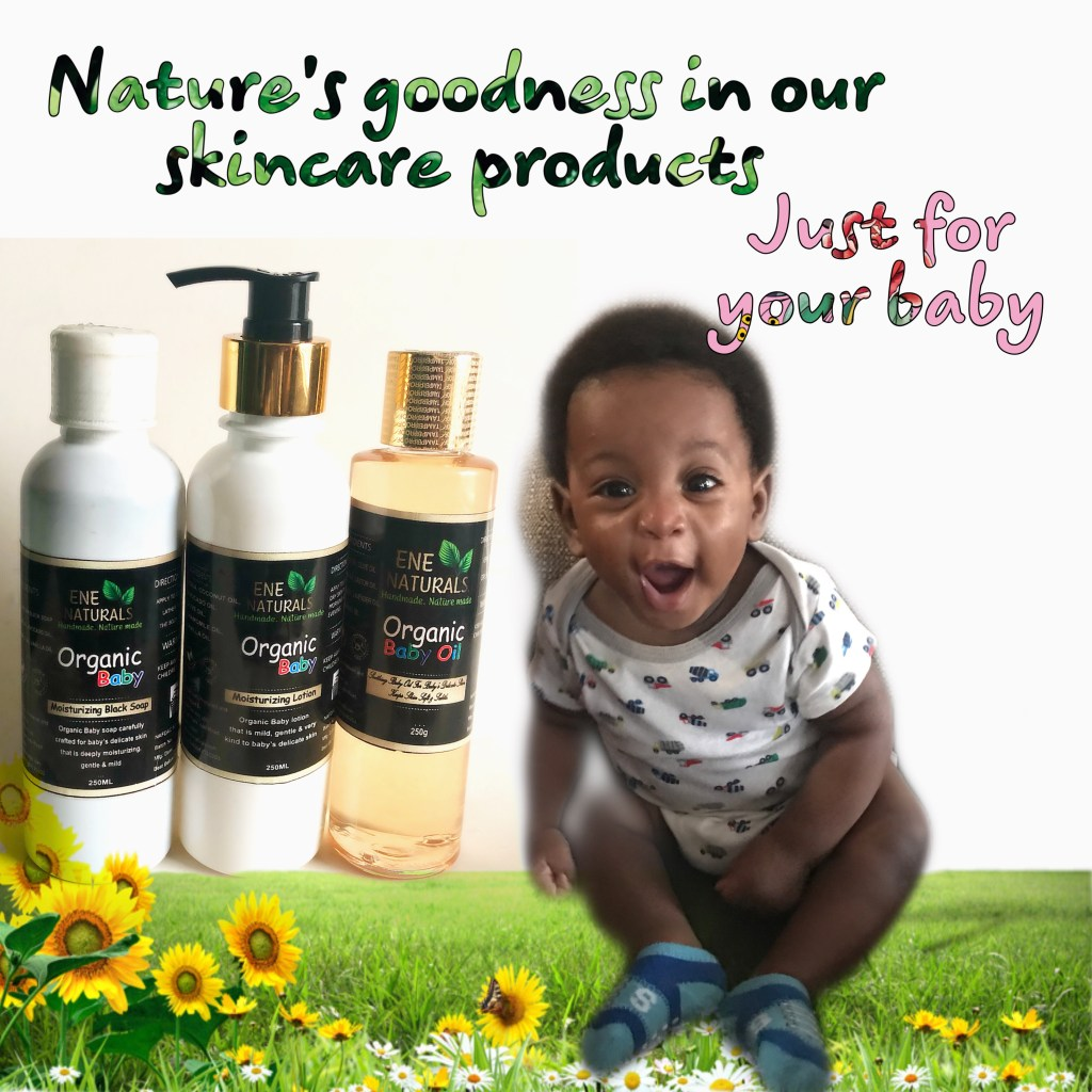 organic skincare baby products