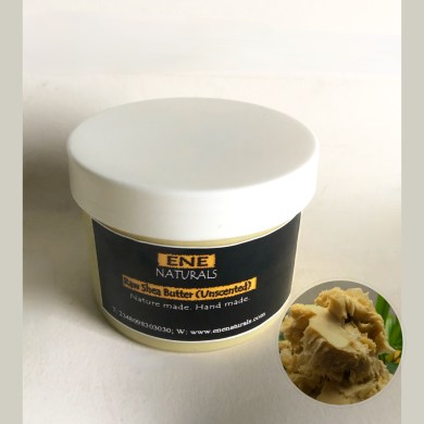 Raw unscented shea butter