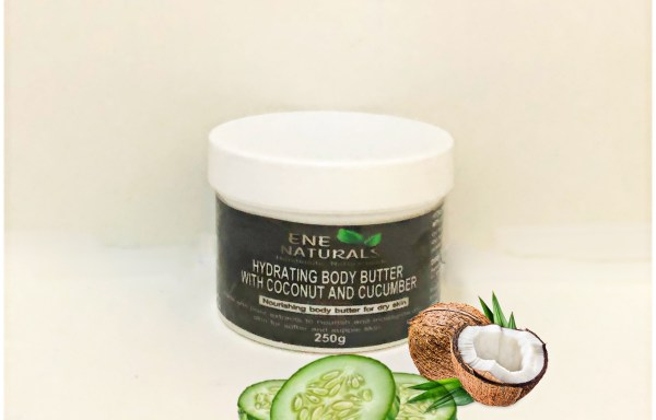 HYDRATING BODY BUTTER WITH COCONUT OIL & CUCUMBER