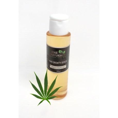 Organic hair growth serum