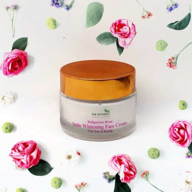 Bulgarian rose whitening face cream