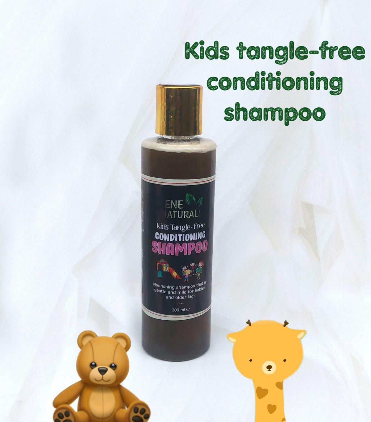 Kids tangle free conditioning shampoo