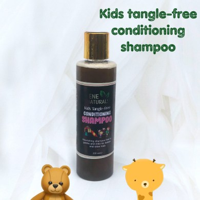 Kids tangle free conditioning shampoo