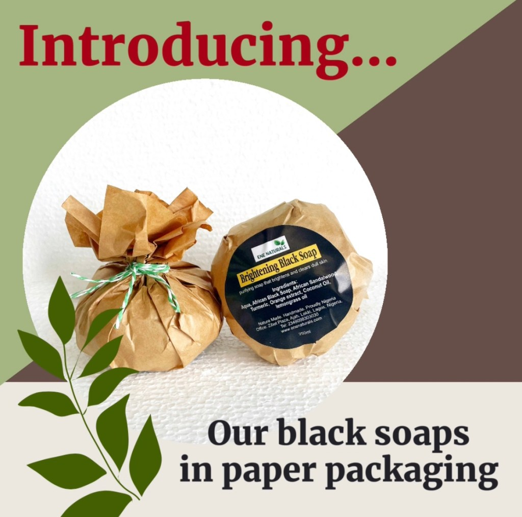 Black soap eco friendly