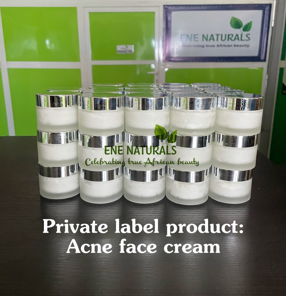 private label acne face cream manufacturer