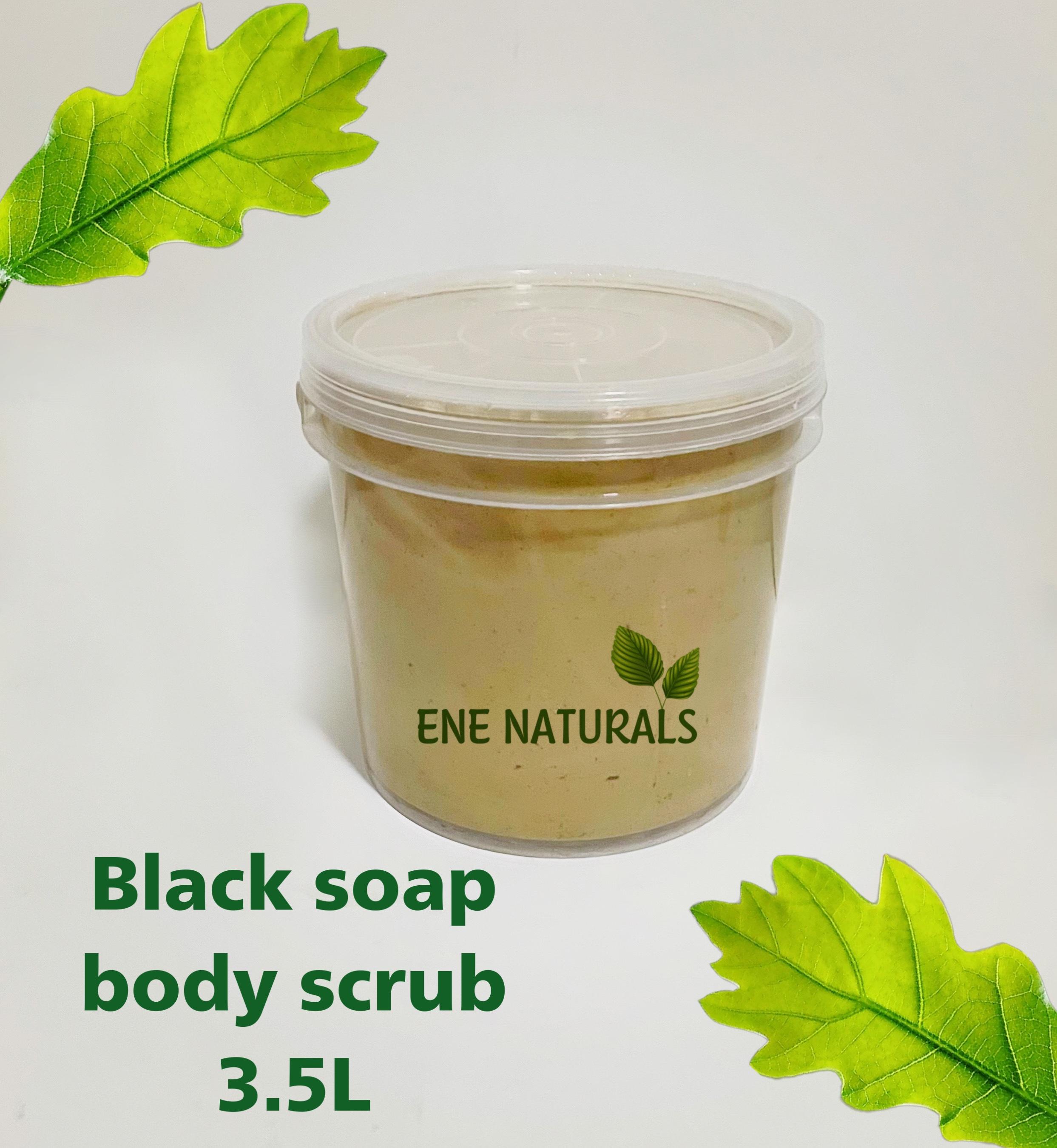 Contract manufacturing of black soap body scrub