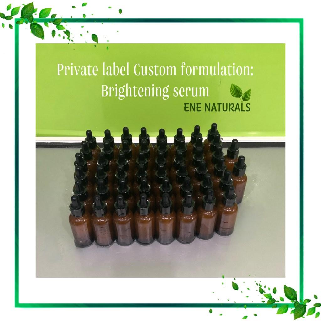 organic serum private label