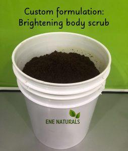 exfoliating body scrub contract manufacturing