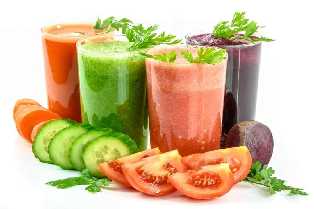 jus de légumes pour la cure de jeûne