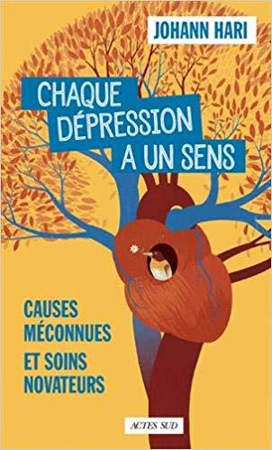 Couverture du livre la depression a un sens fiche de lecture marion henry naturopathe forcalquier