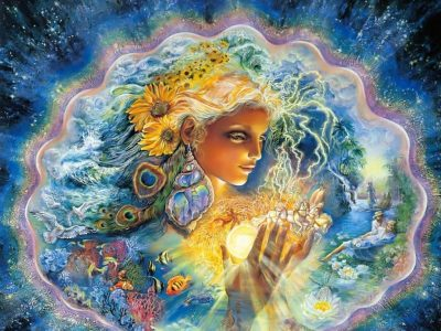 Collective Consciousness Daily Readings - artwork by Josephine Wall