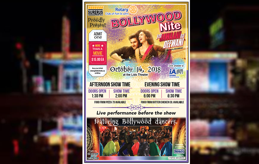 Bollywood Nite – International Fellowship