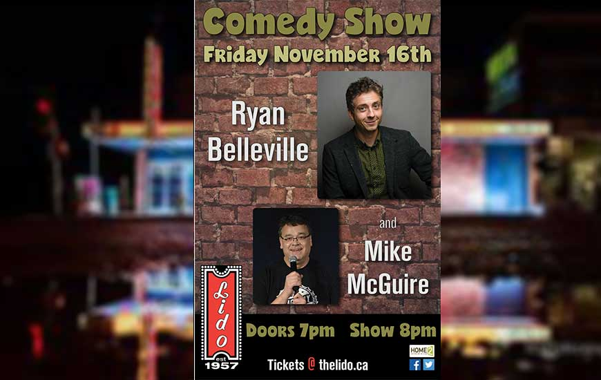 Ryan Belleville Comedy Show