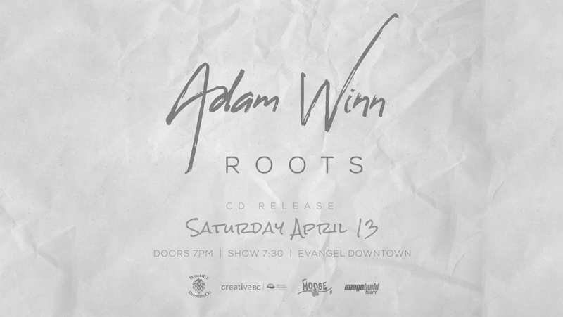 Adam Winn Roots CD Launch