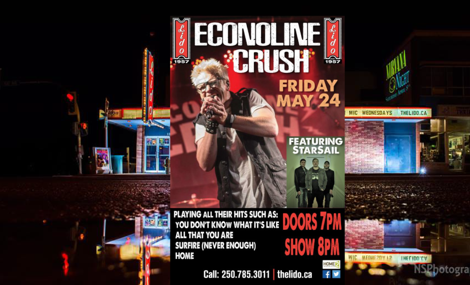 Econoline Crush at the Lido Theatre
