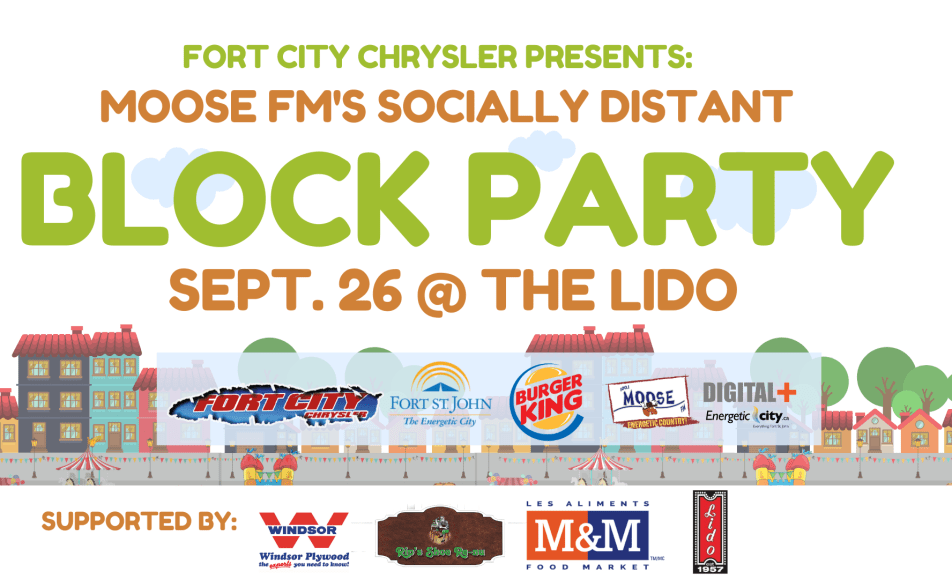 Fort City Chrysler Moose FM Block Party