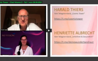 Cosmic Tower – Harald Thiers – Chat Volume 2 – Teil 1 vom 09.09.2021