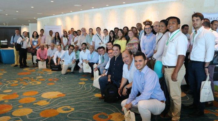 """Energía Limpia total en el primer taller """"Invierta y Gane"""" que tuvo lugar en Cartagena; Cartagena, Bolívar; Foto: Juan Daniel Correa"""