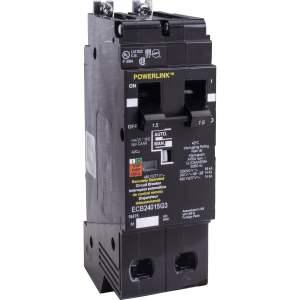 Interruptor Circuito 15AMP número de serie ECB24015G3. Tecnología de unidad de disparo Termomagnético, estándar, LI. Corriente nominal de línea 15 A.