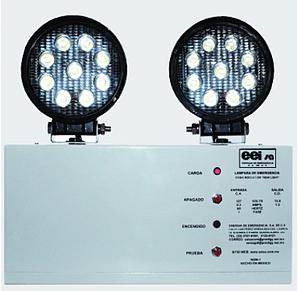 Lámpara de emergencia industrial LU-1 55W New Light