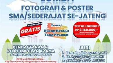 Photo of Gratiss! Yuk Ikut Lomba Fotografi dan Poster untuk Pelajar SMA Sederajat di Jateng