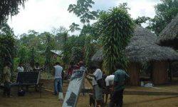a foto placa solar africa 2