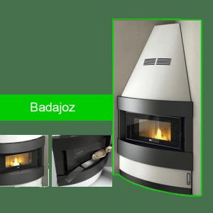 Badajoz estufa de pellet