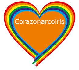 corazon arcoiris